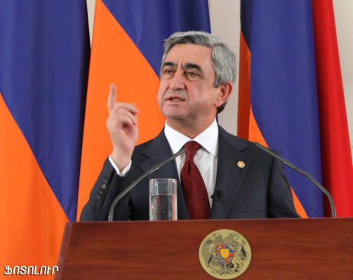 Serzh Sargsyan Armenia