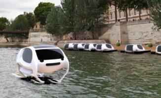 Taxi Volanti Sulla Senna. Ecco Come Si Risolve Il Problema Traffico