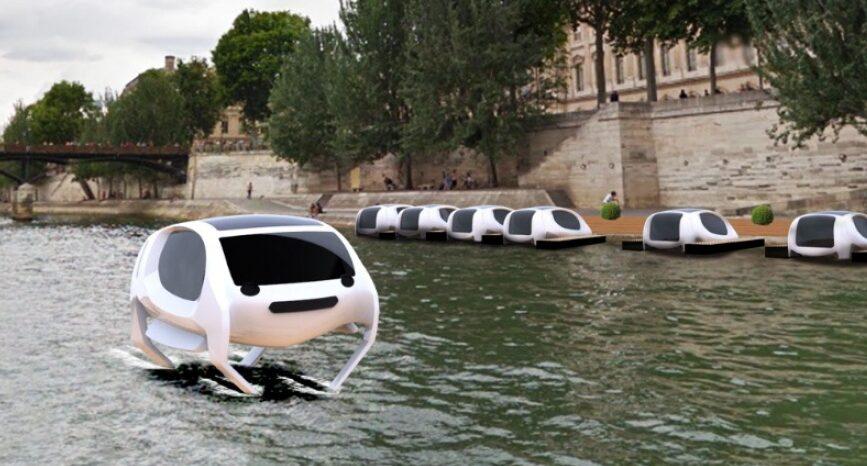 Seabubbles Taxi Volante