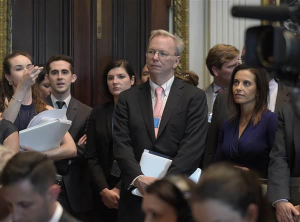 Eric Schmidt alla Casa Bianca