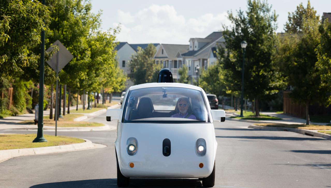 waymo guida autonoma google