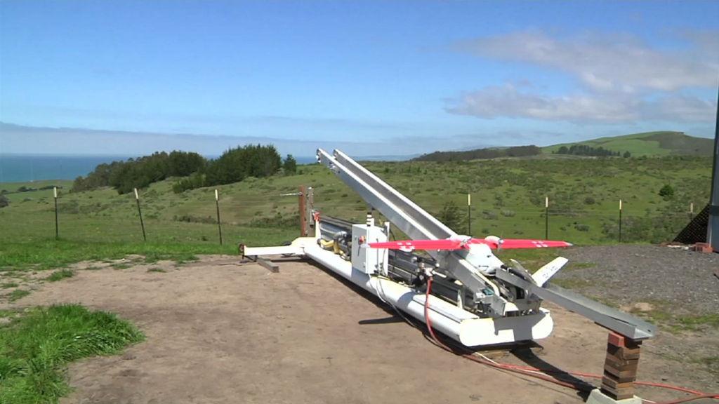 lancio droni