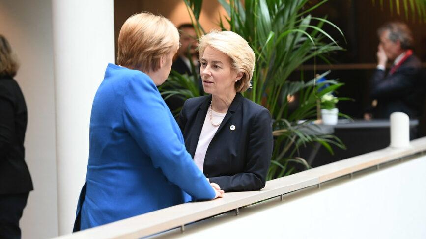 Merkel Von Der Leyen Recovery Fund