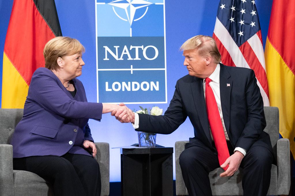 Trump Merkel Germania
