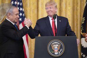 Trump Israele emirati arabi uniti