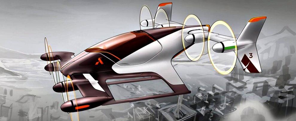 Airbus auto volanti