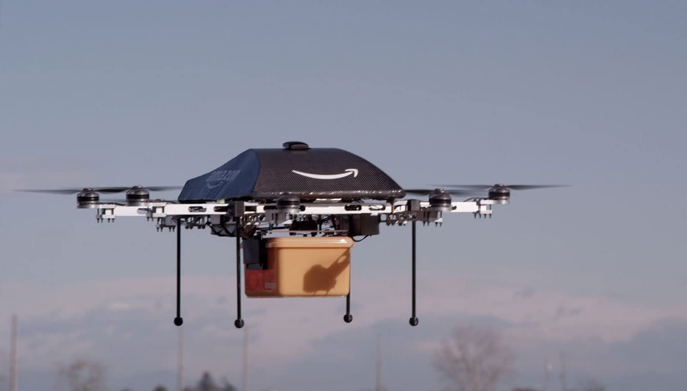 Amazon Prime Air Walmart