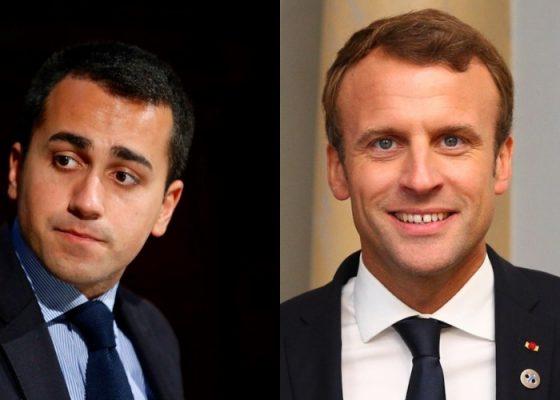 Di Maio Macron Cina