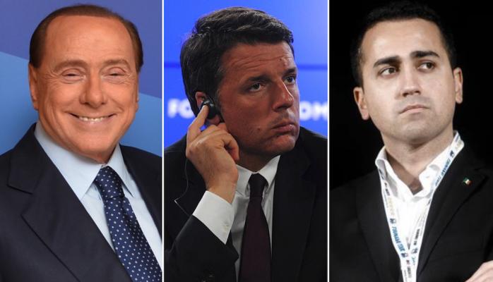Berlusconi-renzi-di-maio
