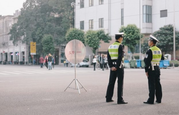 Cina - polizia, controlli