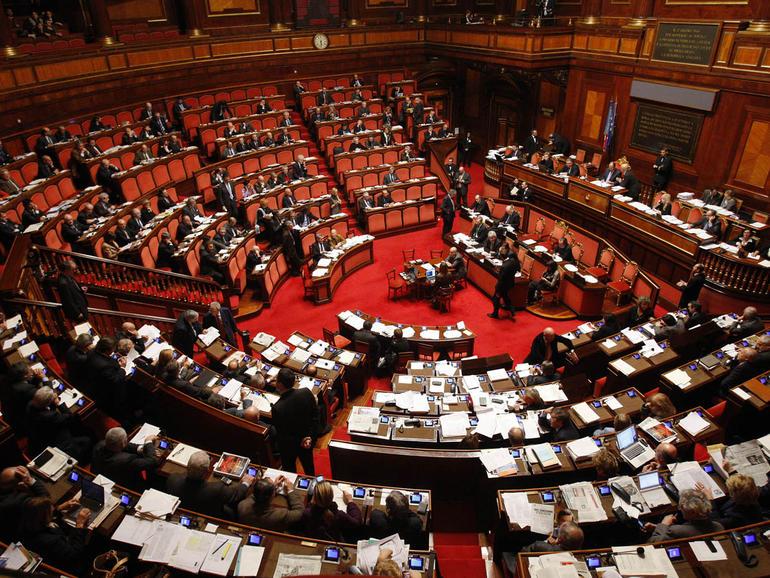 parlamento dimezzato