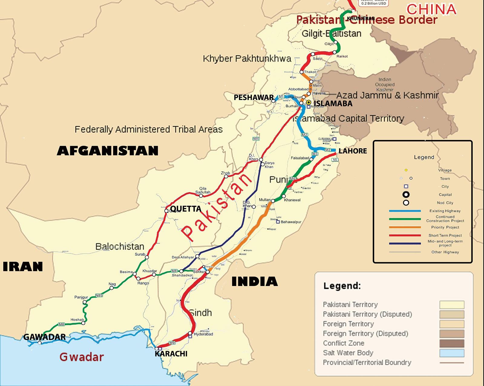Pakistan Cina