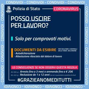 coronavirus consigli polizia 1