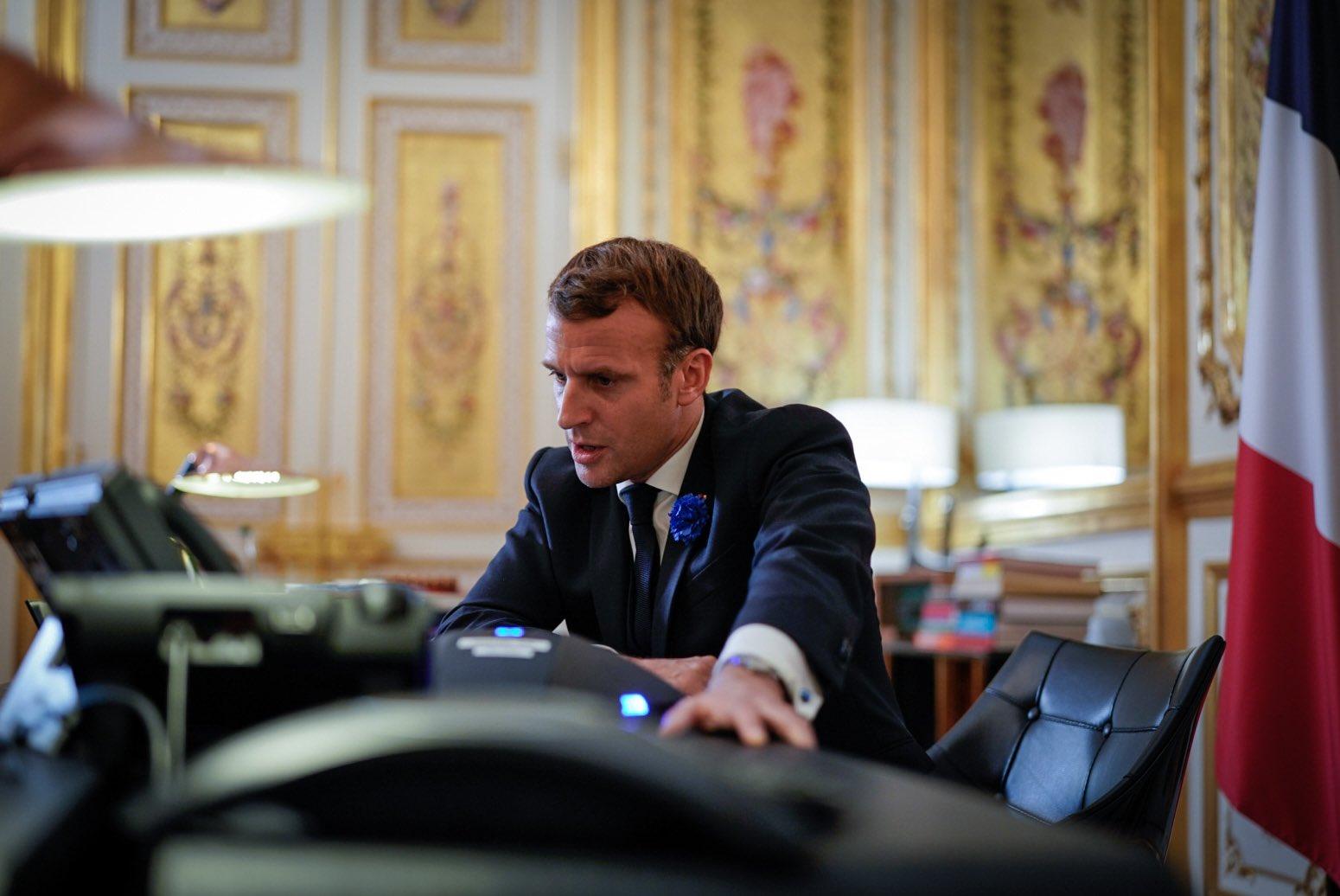 Macron Nucleare