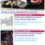 Expo 2015 news, sezione notizie e Tg