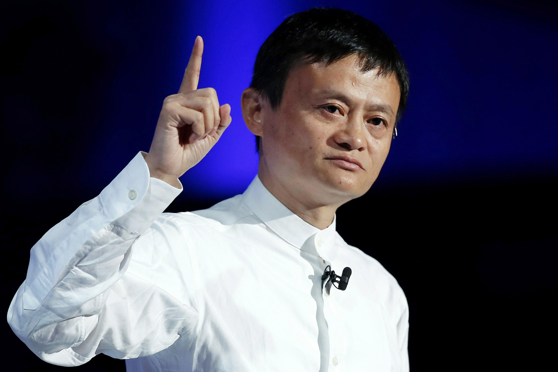 Alibaba Jack MA robot