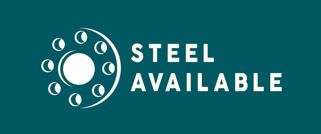 Logo Steel Available