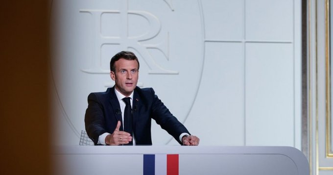 Francia Covid Macron GERMANIA