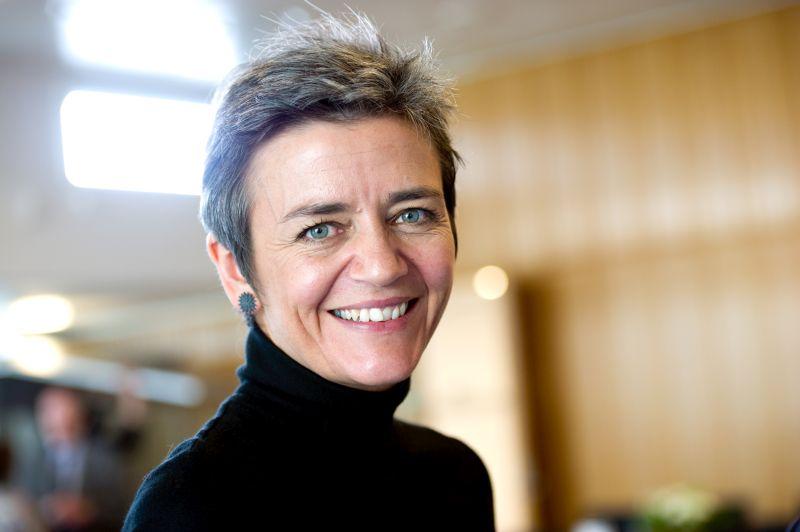 Margrethe Vestager fusione Microsoft - Linkedin