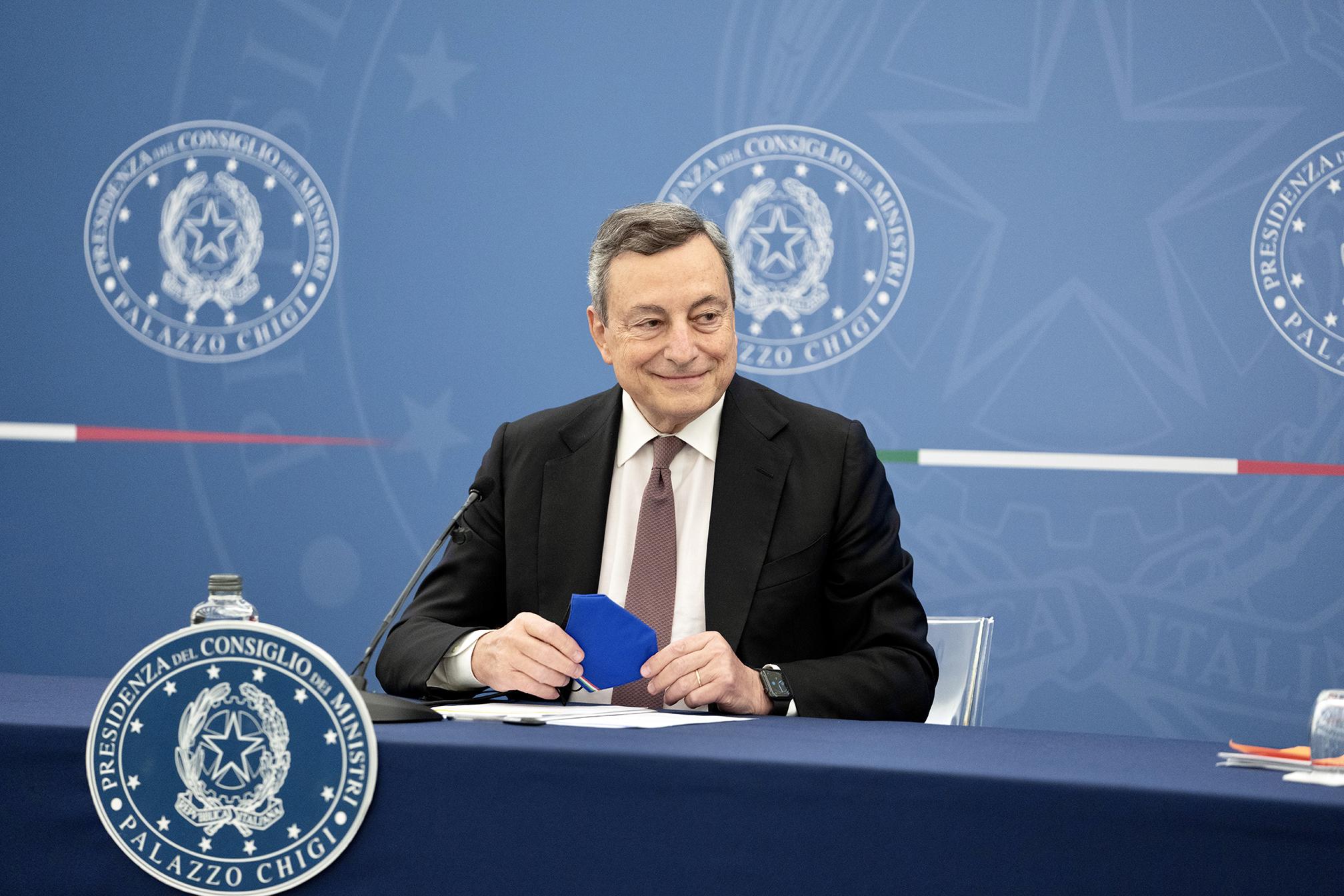 Fiducia, ripresa, investimenti e catasto. Che cosa ha detto Draghi in conferenza  stampa - Startmag