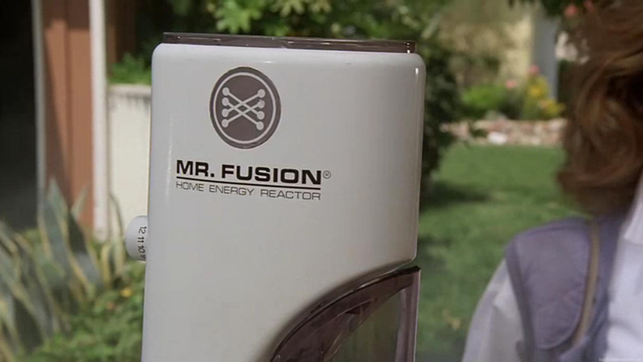MrFusion combustibile