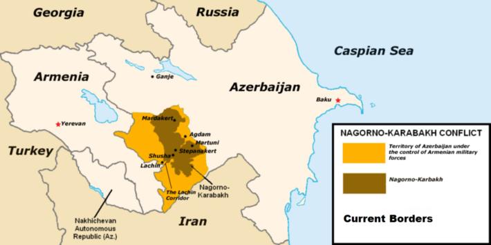 Russia Armenia Azerbaigian