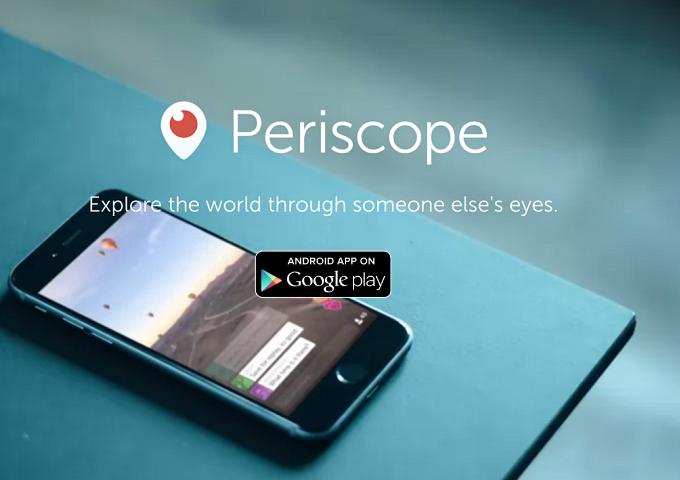 Periscope per Android