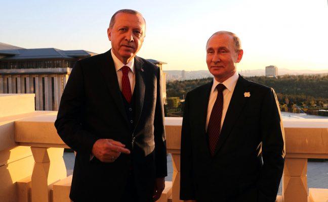 erdogan putin siria Turchia Russia e Turchia