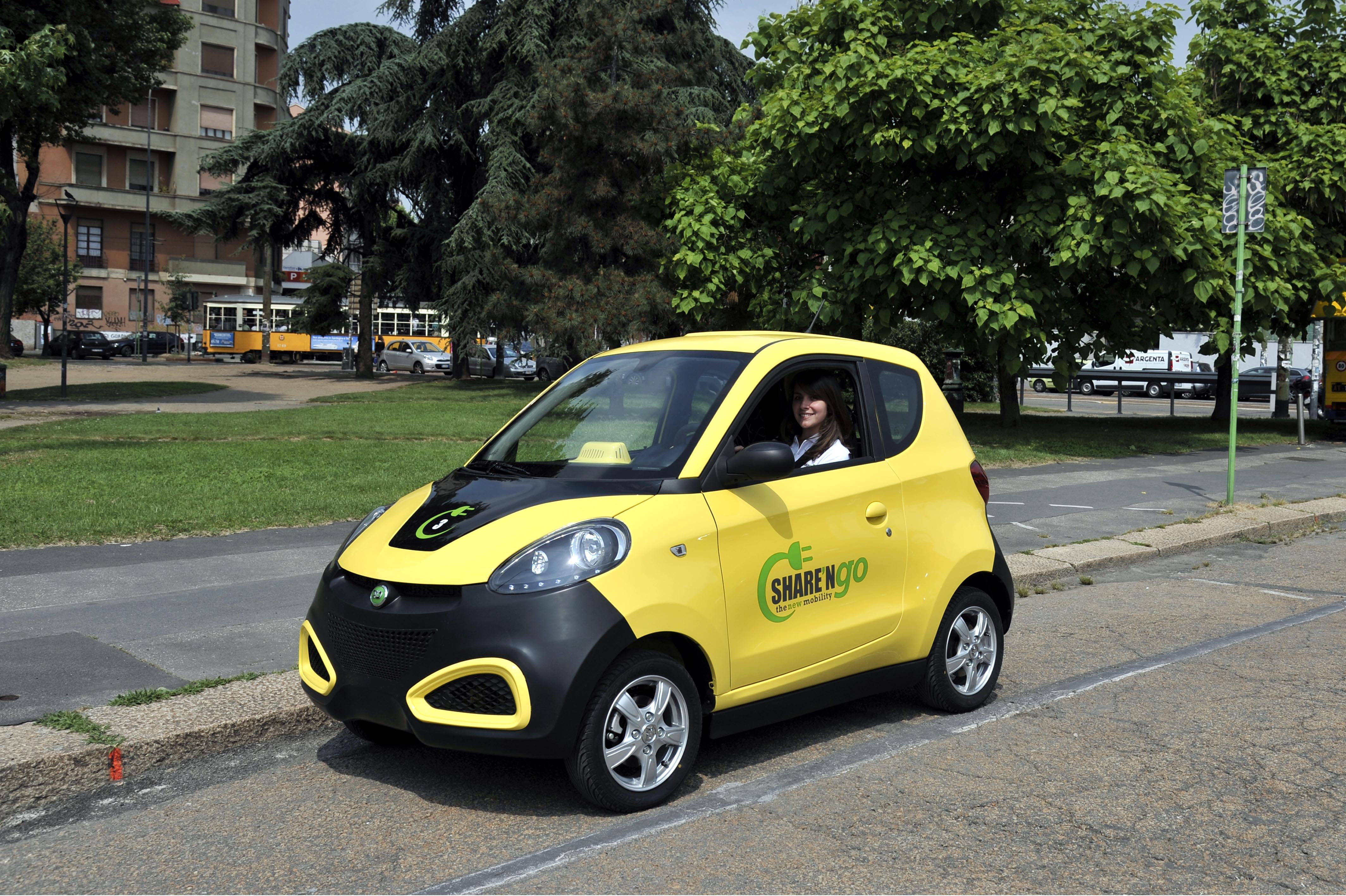 Car Sharing Elettrico Italia