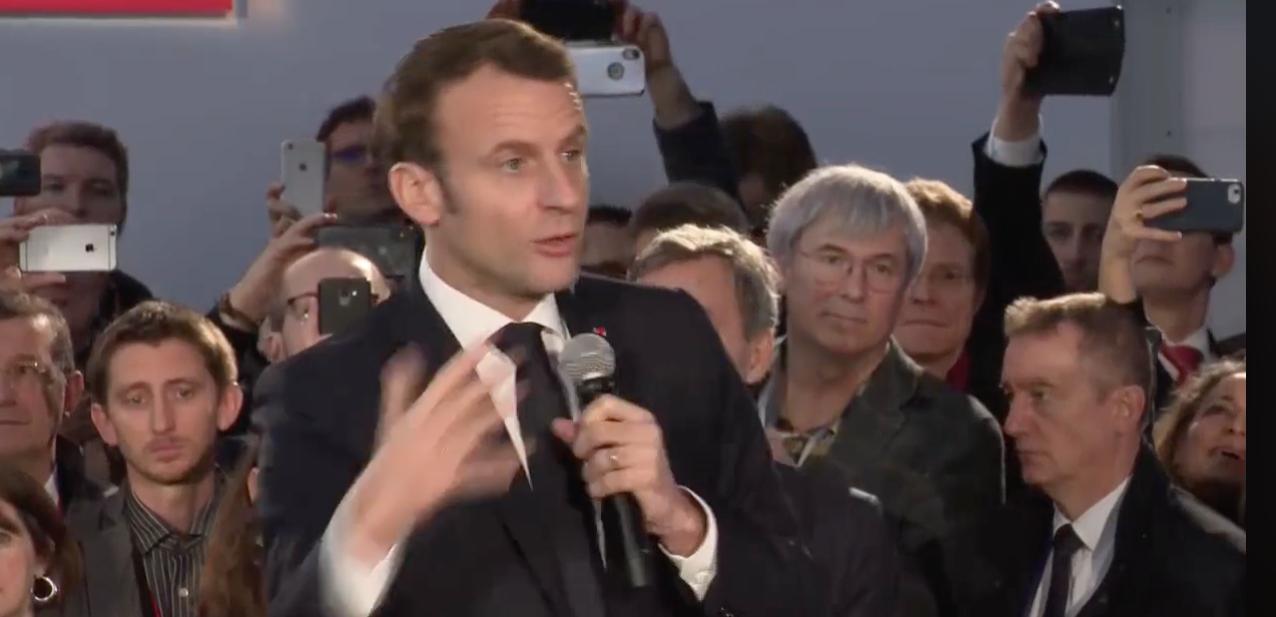 Francia Batterie Macron