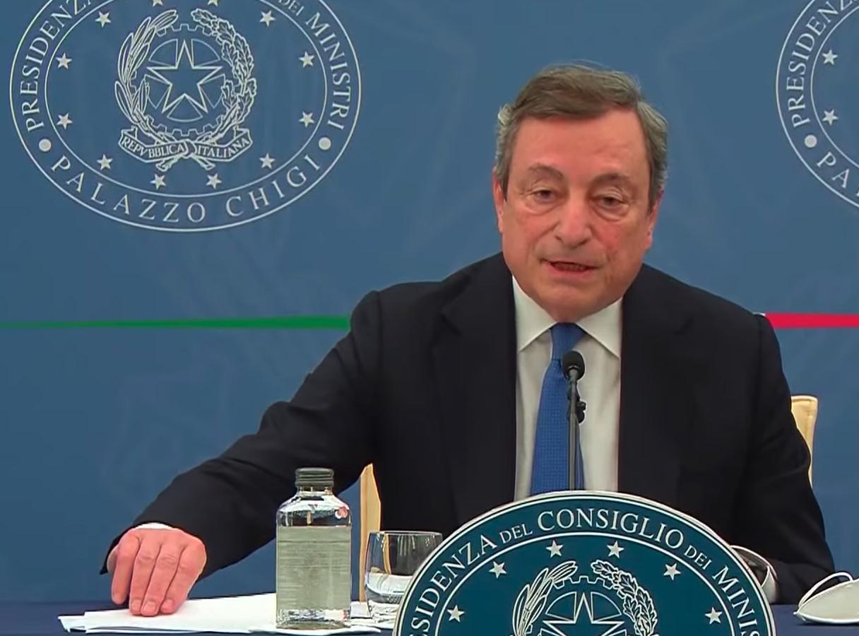 Draghi Green Pass