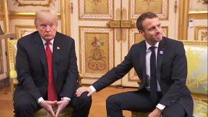 Trump - Macron