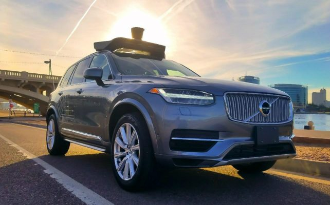 Uber-Volvo-XC90-driverless-vehicle