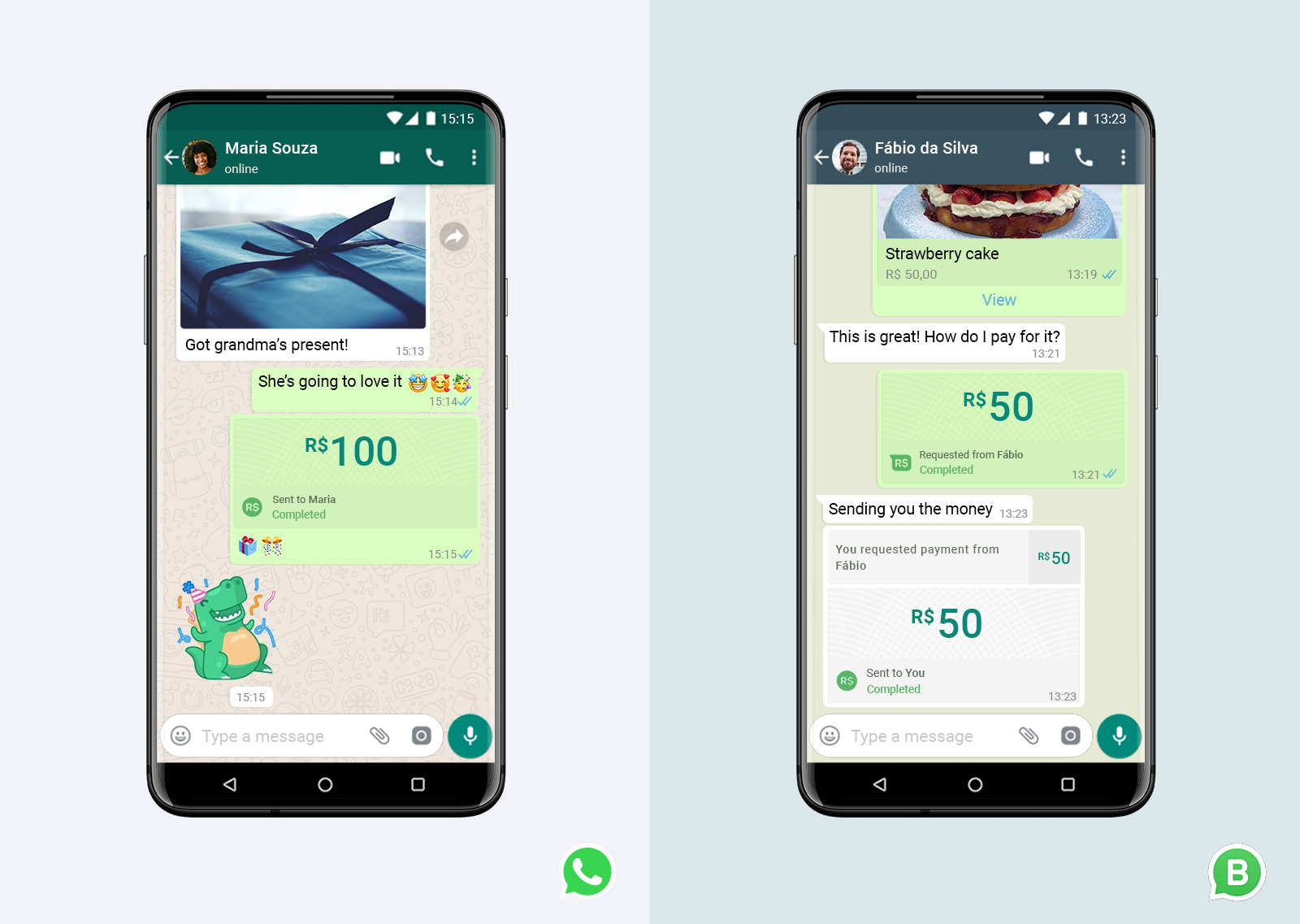 WhatsApp Pay Brasile