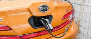 auto elettriche Cina