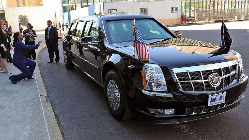 Trump A Roma. Ecco The Beast, L'auto Inespugnabile Del Presidente