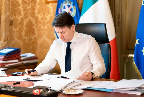 Giuseppe Conte dpcm decreto