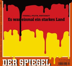 copertina spiegel merkel