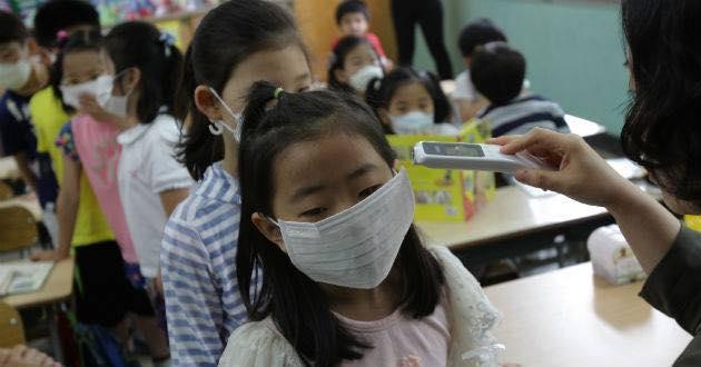 virus cina covid-19 bambini