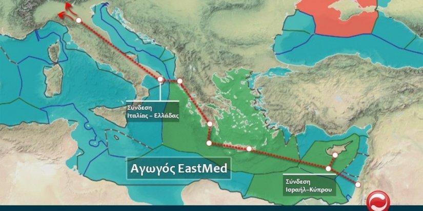 gasddotto East Med