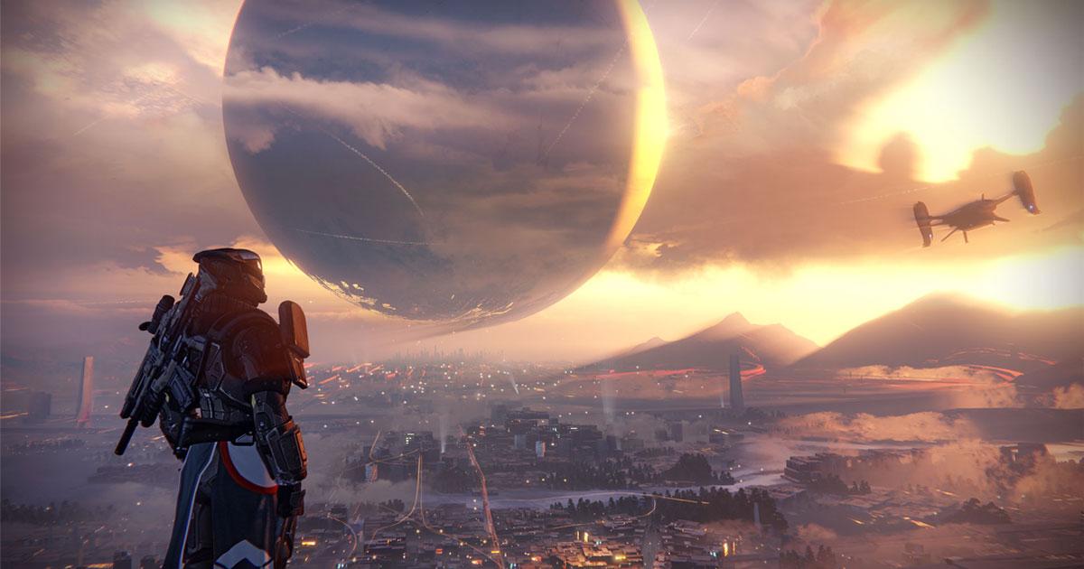 Un'immagine del videogioco Destiny