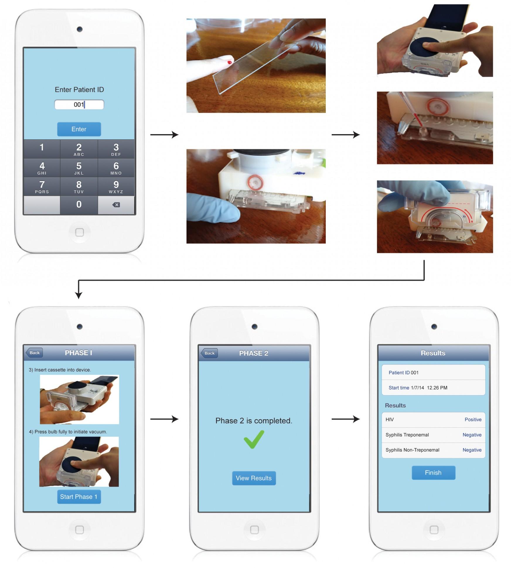 diagnosi attraverso smartphone