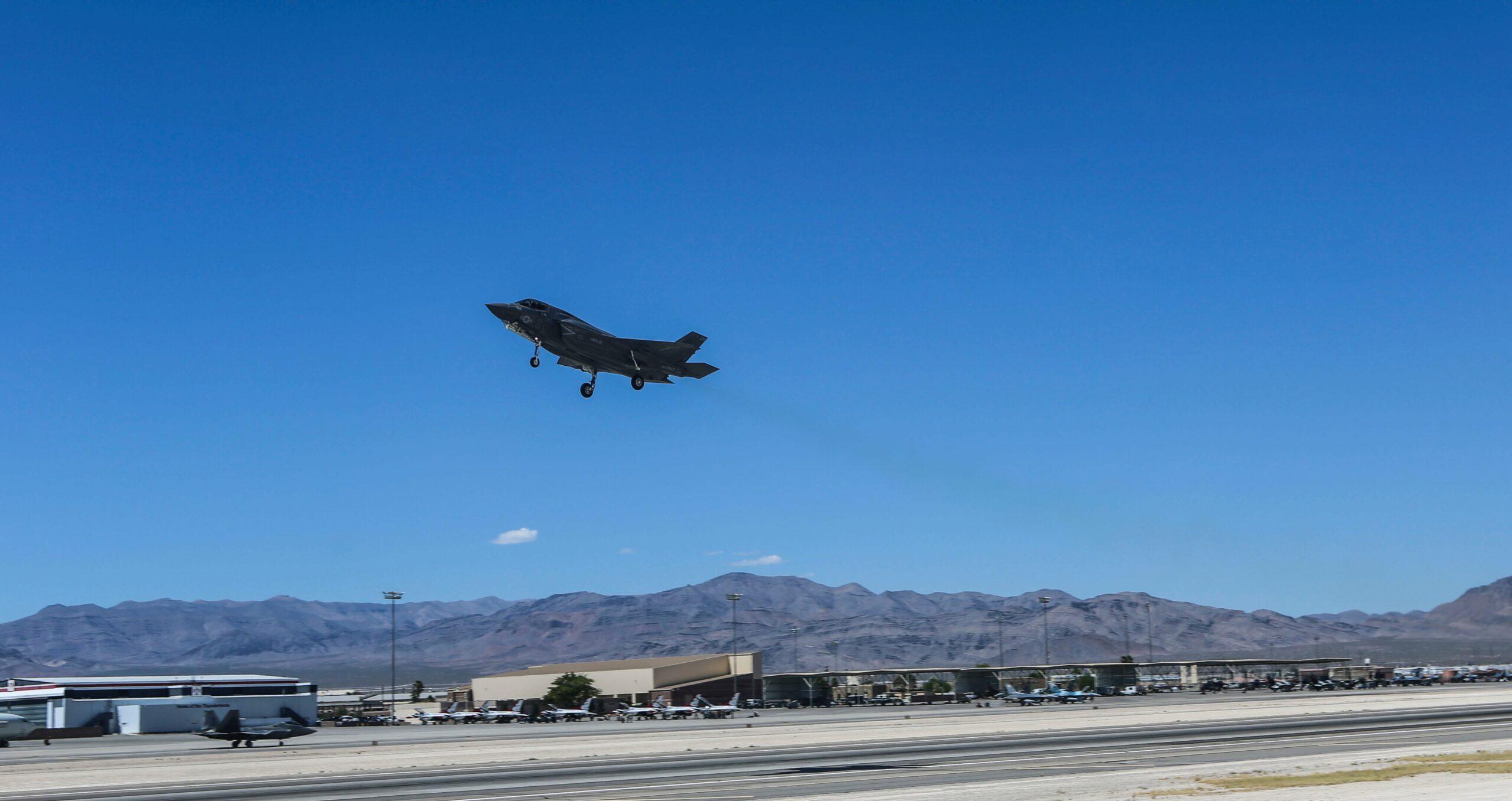 Schiantato F-35b