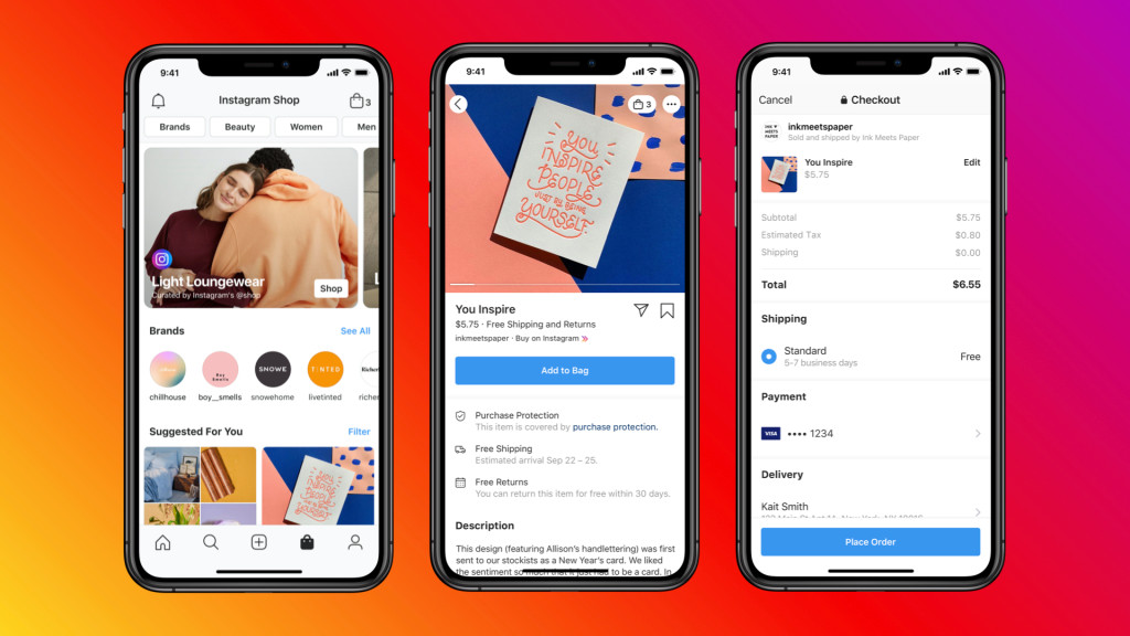 Instagram Shops ricorda Facebook Shops