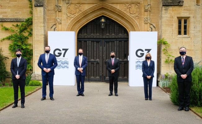 g7 salute