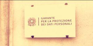 GARANTE PRIVACY VODAFONE