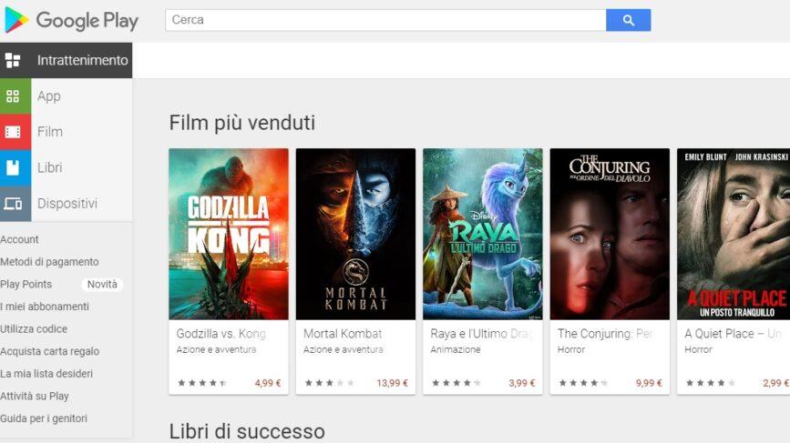 Google Commissioni