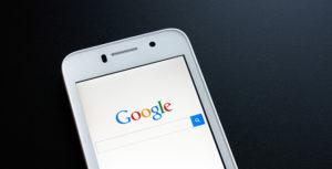 smartphone Google facebook
