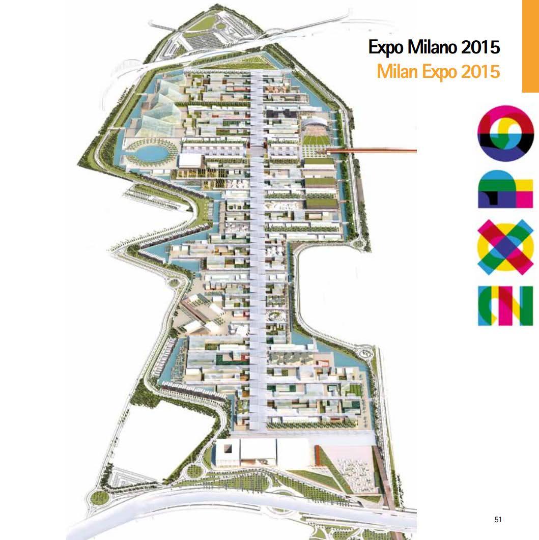 Progetto dell'area Expo2015