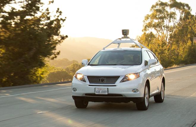 Auto senza pilota google